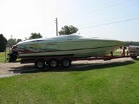 1999 Baja Outlaw SST . Boat runs great interior needs a