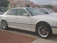 l'm sale 99 BMW 740i Sport with 185, highway miles