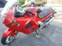 1999 Marrakesh red BMW K1200RS First registered in