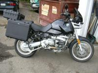 BMW Motorcycle is the R1100 GS Enduro Bike. It is both