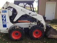 1999 Bobcat 773. This 1999 Bobcat 773 Skid Steer is a