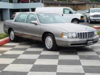 4D Sedan, Northstar 4.6L V8 SFI DOHC, 4-Speed Automatic