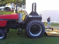 1999 CASE 1896, 4527 hrs miles, Exterior: Red, 95 Horse