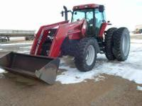 1999 Case IH MX 170 Tractor W/Loader, 3362 hours. Call