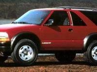 1999 Chevrolet Blazer 2D Sport Utility Vortec 4.3L V6