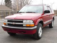 This is a reliable 1999 Chevrolet Blazer LS 4x4. The