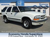 Options Included: 2WD, 5 Passenger Seating, AM/FM