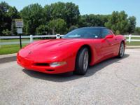 1999 C-5 Corvette TARGA Hard Top-Convertible Coupe