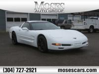 New Price! 1999 Arctic White Chevrolet Corvette 6-Speed