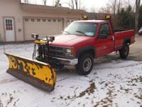 ITS GOT A PLOW, NOW ALL YOU NEED IS SOME SNOW! COME ON