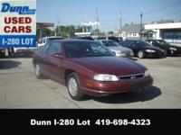 Options Included: N/A1999 Chevrolet Monte Carlo LS