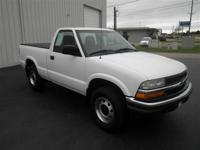 S-10 REG CAB: 4WD!..AUTOMATIC-4 NEW TIRES-NO RUST-CLEAN
