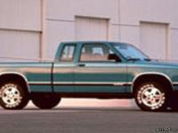 Make:  Chevrolet Model:  S10 Pickup Year: