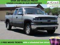 4WD, Priced below Market! Automatic Headlights AM/FM