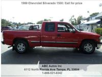 Chevrolet Silverado 1500 Automatic 4-Speed Red 104828