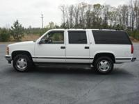 Options Included: N/A1999 CHEVROLET Suburban 1500 4WD