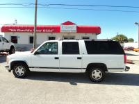 JUST TRADED IN!! VERY CLEAN 1999 SUBURBAN LT!! LOADED.