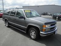 SUBURBAN LS: 1 OWNER-LOCAL TRADE-3RD ROW SEATING-ALLOY