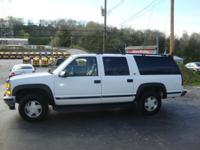 1999 CHEVROLET SUBURBAN LT 4X4 NO ACCIDENT CLEAN
