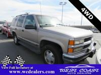 Light Pewter Metallic 1999 Chevrolet Tahoe LS 4WD