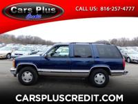 Options:  1999 Chevrolet Tahoe |Visit Cars Plus Credit