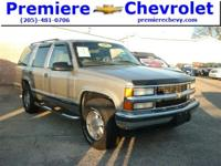 Options:  1999 Chevrolet Tahoe|Sand/|V8 5.7L
