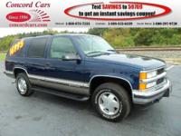 1999 Chevrolet Tahoe Sport Utility Our Location is: