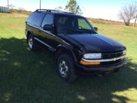 Up for sale is a 1999 Chevy 2 door Blazer 4x4. Truck