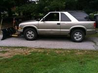 1999 chevy blazer ls 4x4 unforunetly truck might need