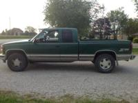 I have a 1999 Chevy extended cab full size truck that I