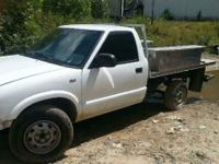 "I HAVE A 1999 CHEVY S10 4WD FOR SALE PARTS ONLY, ""I DO"