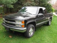 1999 CHEVY SILVERADO LS PICK UP (4WD) WITH PLOW.