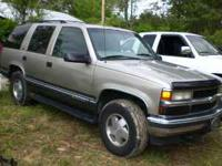 have a gunmetal 99 chevy tahoe for parts some parts