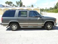 1999 Chevy Tahoe: This Rust Free Tahoe is an all around