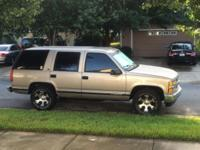 1999 Chevy Tahoe for sale (FL) - $12,000 '99 Tahoe Drag