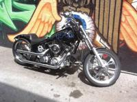 1999 CMC RIGID BOBBER S&S 88 INCH MOTOR 5 SPEED