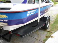 Built in 1999 the Super Air Nautique with the 8.2 L