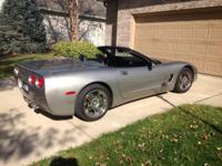 1999 Covette Covertible.  Pewter Metalic exterior,