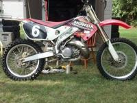 I have a cr 250 that I just put new motor on it and had