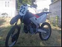 Great dirt bike, tons of power. Best year of CR250R