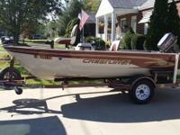"1999 Crestliner 14'6"" Angler Side Console with 1999"