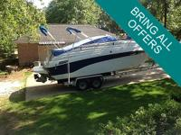 This 1999 Crownline 268 Cr is a lovely boat in great