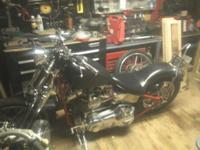 1999 Harley Davidson Custom Chopper Paughco frame,