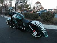 This is a one of a kind harley, originally built for