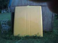 YELLOW HARD SHELL A.R.E. TOPPER FOR A 6' 1/2 BED