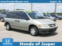 Options:  1999 Dodge Caravan 3Dr Base 113 Wb|Front