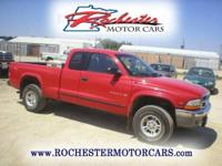 1999 Dodge Dakota SLT with 277,664 miles. Locally owned
