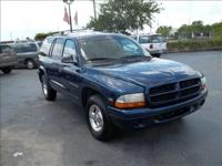Options Included: N/A1999 DODGE DURANGO 7-PASSENGER