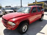 For 1999 the Durango has an Aggressive Dodge styling,