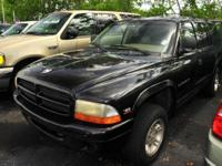Options Included: N/A1999 DODGE DURANGO , BLACK/MIST